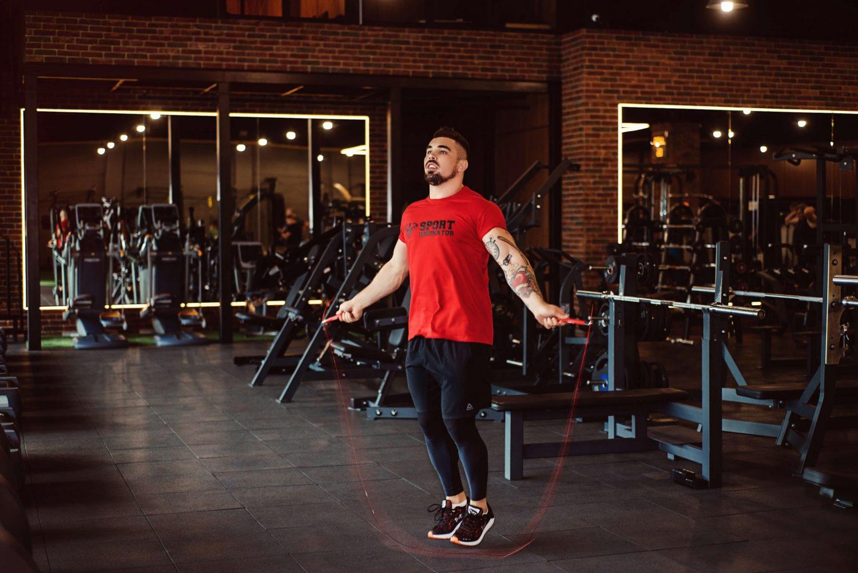 Скоростная скакалка для фитнеса, кроссфита и бокса