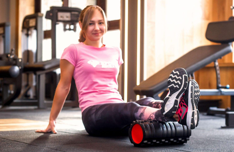 Масажний ролик для йоги, фітнесу та пілатесу