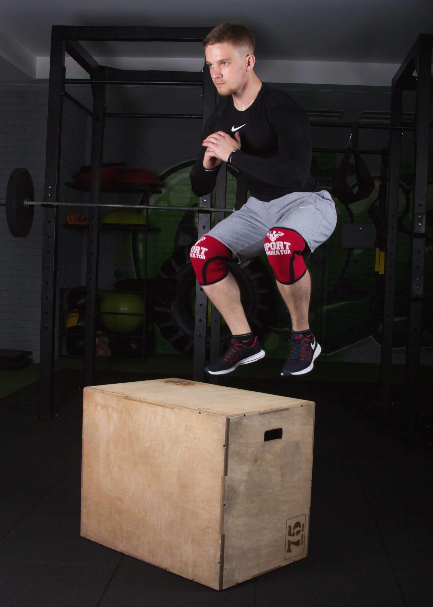Наколенники для фитнеса и кроссфита