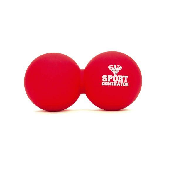 Двойной массажный мяч SportDominator для миофасциального релиза