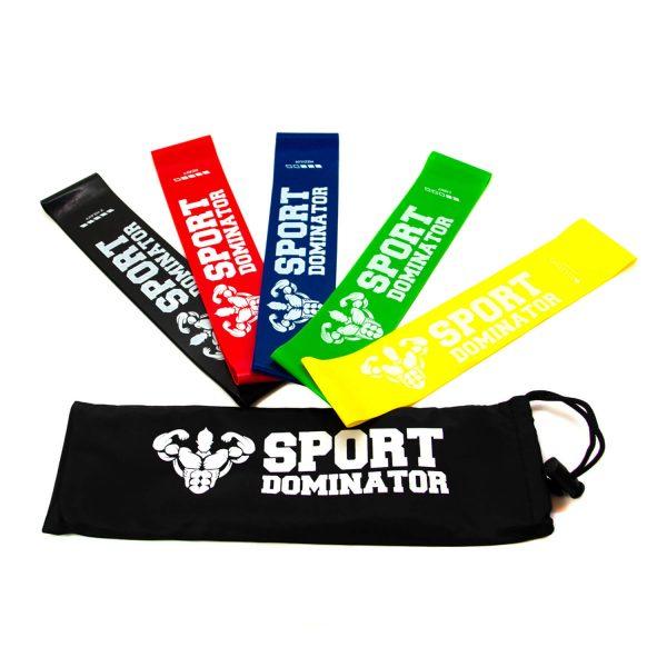 Резиновые мини петли для фитнеса SportDominator