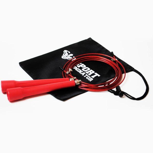 Скоростная спортивная скакалка на подшипниках JR028