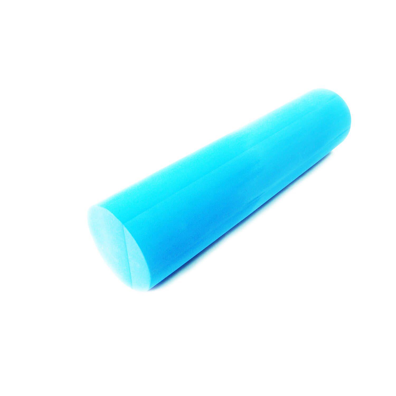 Гладкий массажный пенный ролик 60 см (массажный валик)
