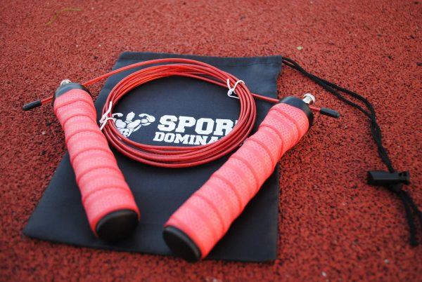 Скоростная спортивная скакалка на подшипниках JR054