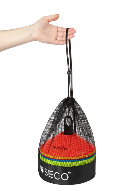 Набор тренировочных фишек 5 цветов с подставкой и сумкой (50 штук)