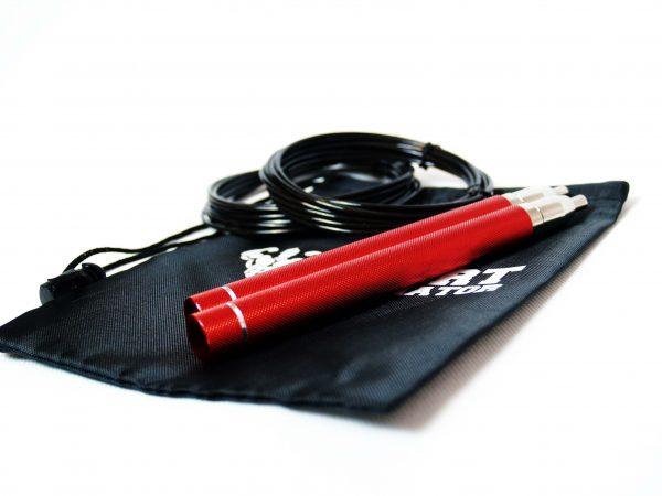 Скоростная скакалка на подшипниках с алюминиевыми ручками. ЭКСКЛЮЗИВ!